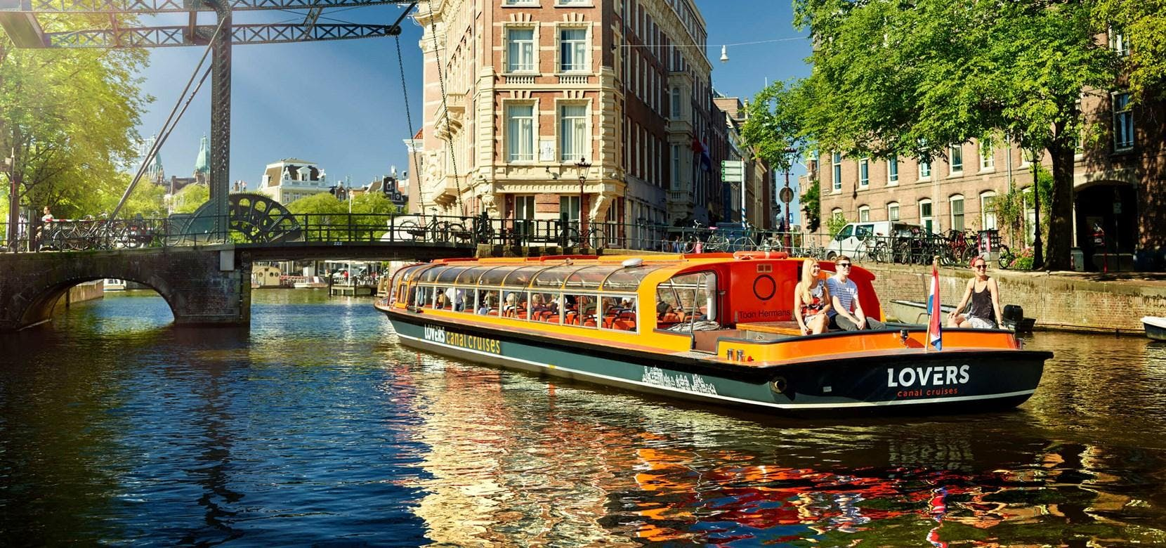 2-3 hrs Amsterdam Canal Cruise & Walking Tour