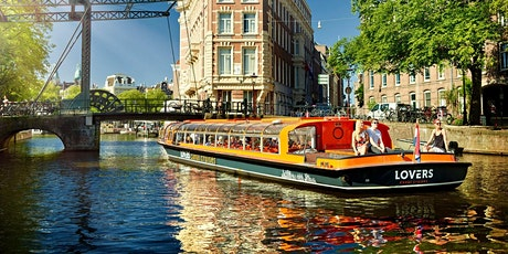 Amsterdam Canal Cruise & Walking Tour - incl. Airport transit tickets