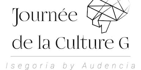 Journée de la Culture Générale billets