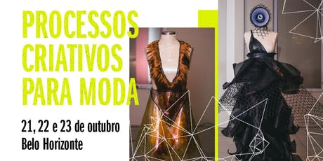 Processos Criativos para Moda ingressos