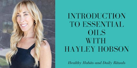 Introduction to Essential Oils with Hayley Hobson (Glasgow City Centre) tickets