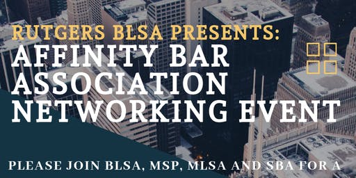 Affinity Bar Association Event