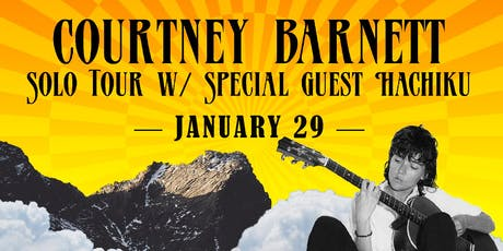 Courtney Barnett Solo Tour tickets