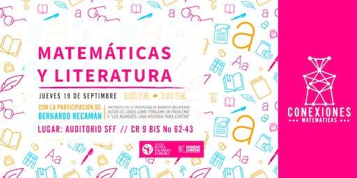"""Conexiones Matemáticas: """"Matemáticas y la Literatura"""""""