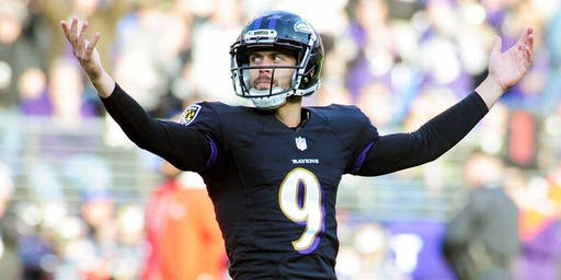 Justin Tucker Autograph Signing October 2nd 7pm