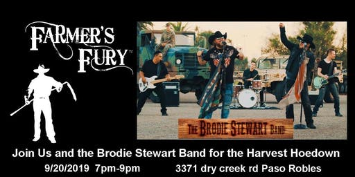 Farmer's Fury Harvest Hoedown with the Brodie Stewart Band