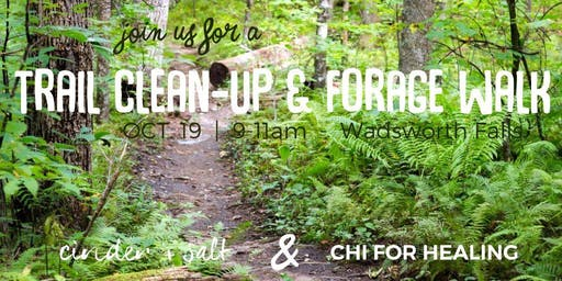 cinder + salt Trail Clean-Up and Nature Walk with Chi For Healing