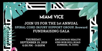 Spinal Cord Injury Support Group Broward, SCISG Fundraising Gala