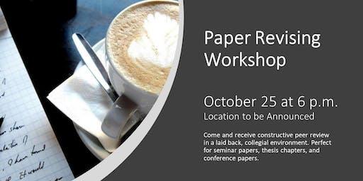 Paper Revising Workshop