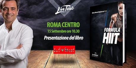 ROMA CENTRO | Presentazione libro Formula HIIT  biglietti