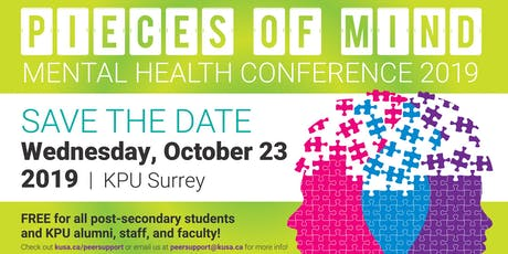 2019 Pieces of Mind Mental Health Conference tickets
