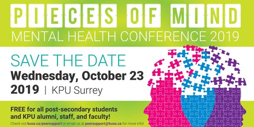 2019 Pieces of Mind Mental Health Conference