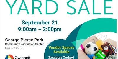 Fall Yard Sale!