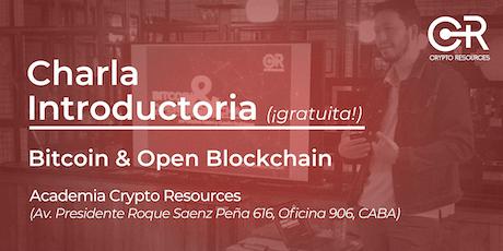 Charla introductoria: Bitcoin y Blockchain entradas