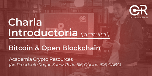Charla introductoria: Bitcoin y Blockchain