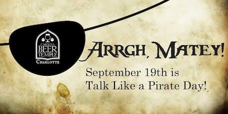 Talk Like a Pirate Day tickets