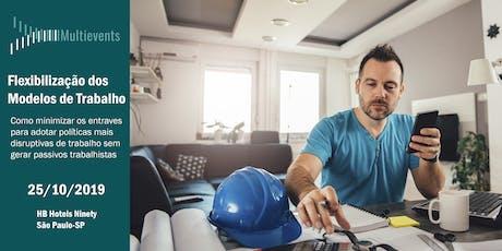 Flexibilização dos Modelos De Trabalho ingressos