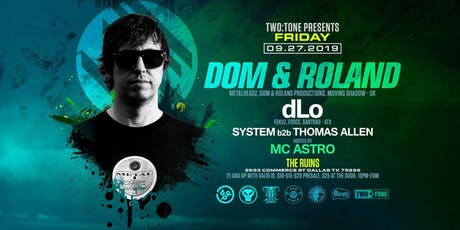 Dom & Roland  tickets