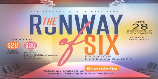 Runway Of 6  Fashion Show