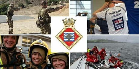 Royal Naval Reserves - Recruitment Information Evening - Dundee tickets