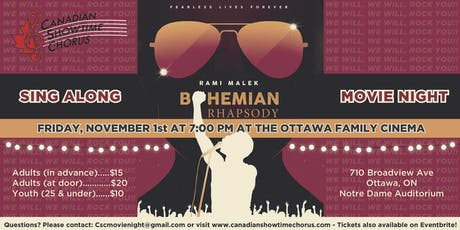 Sing a-long to Bohemian Rhapsody with Canadian Showtime Chorus! tickets