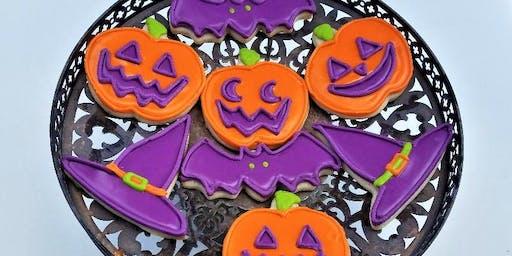 Halloween Cookie Decorating Class!