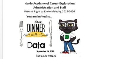 Data Over Dinner - Annual Title 1 Meeting for Hardy Academy of Career Exploration