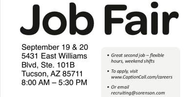 Tucson On-Site Job Fair!