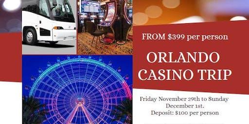 Charlotte to Orlando Casino Trip 2019