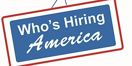 Who's Hiring America Dallas Career Fair tickets