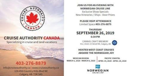 CRUISE NIGHT with NORWEGIAN CRUISE LINE