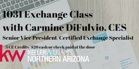 1031 Exchange Class with  tickets