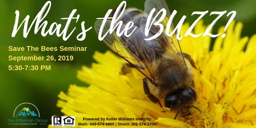 What's the Buzz? Save The Bees Seminar
