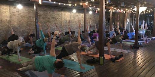 Tuesday September UnWINEd Yoga