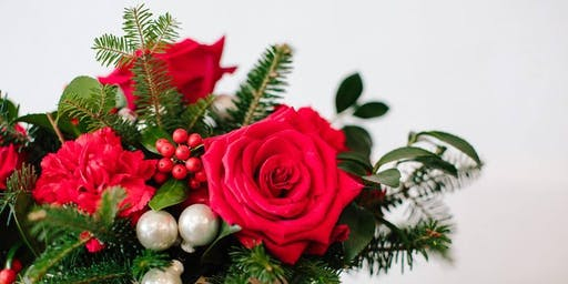Holiday Sips & Clips: A Floral Holiday Workshop at Christmas at Callanwolde
