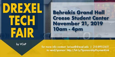 Drexel Tech Fair 2019 tickets