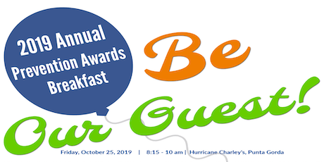 2019 Annual Prevention Awards Breakfast tickets