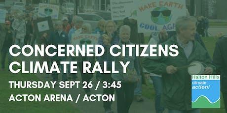 Halton Hills Climate Rally - Acton tickets