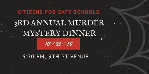 Citizens for Safe Schools Annual Banquet