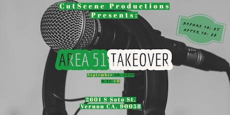 CutScene Productions Presents: Area 51:  tickets