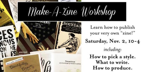 Make-A-Zine Day tickets