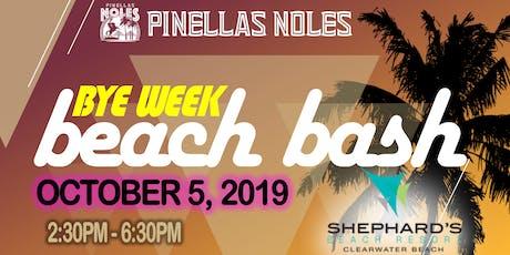 The Bye Week Beach Bash at Shephard's Beach Resort tickets