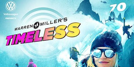 Volkswagen Presents Warren Miller Timeless Ski and Snowboard Movie tickets