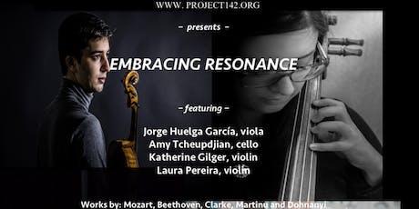Embracing Resonance  tickets