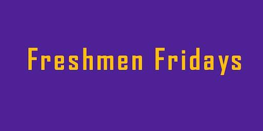 Freshmen Fridays GE Workshop