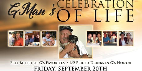 GMan's Celebration of Life tickets