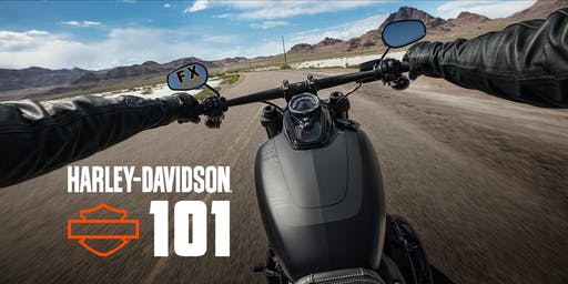 H-D 101: Intro to Motorcycling #atFXCHD