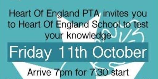 Heart of England School PTA Family Quiz Night