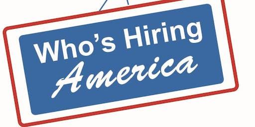 Who's Hiring America Ft. Worth Career Fair