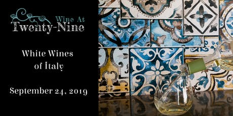 White Wines of Italy tickets